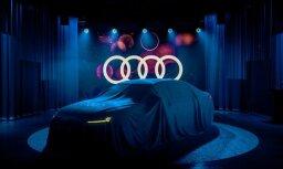 Foto: Rīgā prezentēts jaunais 'Audi A8' limuzīns