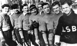 Latvijas sporta vēsture: Lai hokeja meistarsacīkšu favorīti neatslābtu