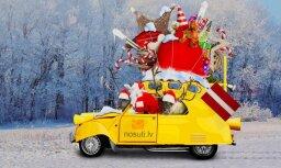 Jauns Ziemassvētku trends: izsauc Ziemassvētku vecīti