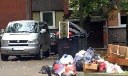 'Daugavpils divas nedēļas slīkst atkritumos,'šķendējas lasītājs