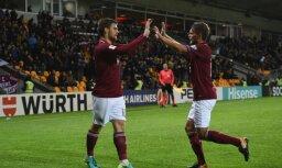 Latvijas futbola izlase kļuvusi par rupjāko Pasaules kausa Eiropas zonas atlasē