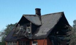 Sestdien ugunsgrēkā Rugāju pagastā bojā gājis cilvēks