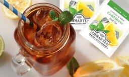 Aukstās Ahmad Tea tējas - šīs vasaras garša