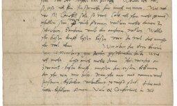 Izsola Lutera vēstuli, kurā viņš kritizē ebrejus