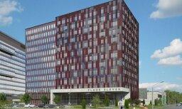 Foto: Ekspluatācijā nodod 20 miljonus eiro vērto biroju ēku 'Place Eleven'