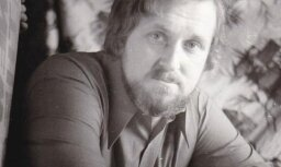 Arhīva foto: Latviešu dramaturgam Paulam Putniņam – 80