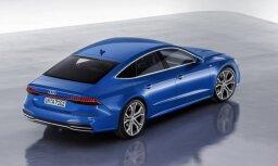 'Audi' prezentējis jauno 'A7 Sportback' modeli