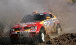 'Mitsubishi' komanda pirmajos Āfrikas posmos negrasās forsēt
