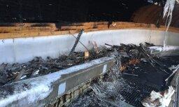 Ugunsgrēks bojājis Soču olimpisko bobsleja un kamaniņu trasi