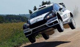 Igaunis Tenaks līderpozīcijā pēc WRC Vācijas posma otrās dienas