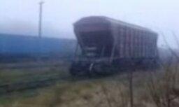 Teiksiet, ka spoku vilciens ir fantastika? Skatieties video!