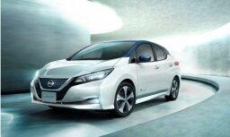 Jaunais 'Nissan Leaf' ar akseleratora pedāli arī bremzēs