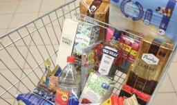 Pierobežas latvieši uz Igauniju brauc pēc lētākas pārtikas un zālēm