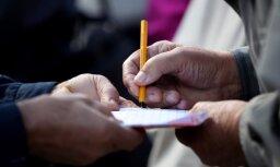 Идет сбор подписей за уменьшение бедности среди латвийских пенсионеров