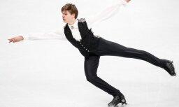 Daiļslidotājs Vasiļjevs pasaules čempionātā 9. vietā pēc īsās programmas