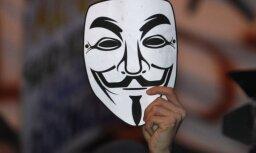 'Anonymous' veic plašu uzbrukumu Ķīnas vietnēm