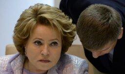 Матвиенко: освобождение Сирии от террористов— личная победа Путина