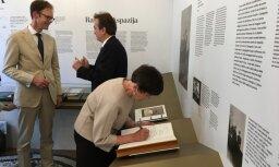 Kastaņolā svinīgi atklāta Raiņa un Aspazijas muzeja ekspozīcija