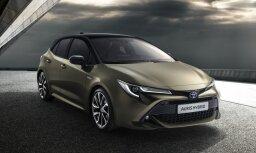 Jaunās paaudzes 'Toyota Auris' piecdurvju hečbeks
