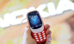 Leģendāro 'Nokia 3310' sāk tirgot arī Latvijā