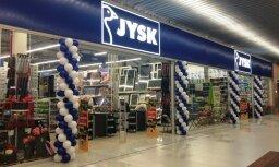 В Риге откроется крупнейший в Латвии магазин Jysk