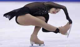 Daiļslidotāja Kučvaļska izcīna 15. vietu pasaules čempionātā