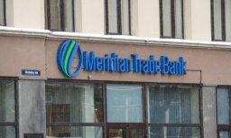 FKTK piemēro 889 651 eiro sodu 'Meridian Trade Bank'