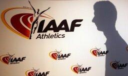 IAAF Krievijas Vieglatlētikas federācijas diskvalifikāciju neatcels arī pēc RUSADA atjaunošanas