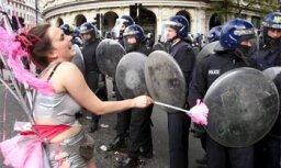 1.maija demonstrācija Londonā