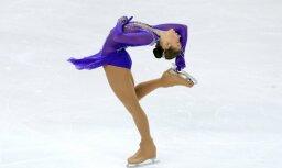 Aprēķini: daiļslidotāja Kučvaļska nodrošinājusi Latvijai vienu olimpisko ceļazīmi