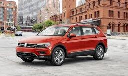 Eiropā septiņvietīgais 'VW Tiguan' būs ar 'Allspace' nosaukumu