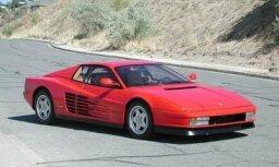 'Ferrari' vadītājam par ātruma pārsniegšanu 140 tūkstoš latu sods