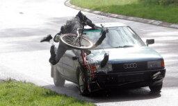 """""""Ну и что?!"""" На глазах у читательницы таксист сбил велосипедиста и уехал"""