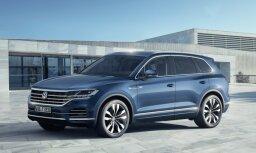 VW oficiāli prezentējis jaunās paaudzes 'Touareg' apvidnieku