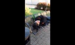 ВИДЕО ОЧЕВИДЦА: Что творится на Рижском железнодорожном вокзале рано утром