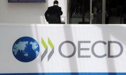 OECD: Latvijas nodokļu slogs 2016. gadā sasniedzis 30,2% no IKP