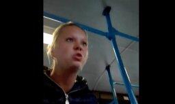 Video: Policija atpazinusi agresīvo 3. autobusa pasažieri