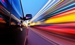 Дорожная полиция остановила лихача, превысившего скорость на 70 км/ч