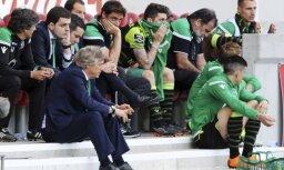 Lisabonas 'Sporting' fani iebrūk kluba bāzē un piekauj treneri un spēlētājus