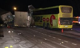 Эстония: в ДТП погиб водитель автобуса Simple Express, пострадали пассажиры из Латвии (ОБНОВЛЕНО)