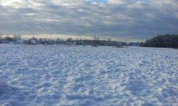 Aculiecinieku foto: Latvijā iestājas ziema