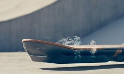 Будущее наступило: компания Lexus представила летающий скейтборд