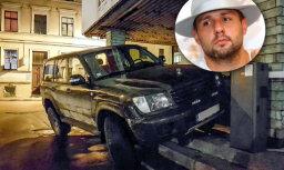 Video: Elbakjans skaidro savu paradumu noparkot auto nepiemērotās vietās