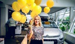 Foto: Rīgā svinīgi atklāts 'Karlo Motors' 'Citroën' centrs