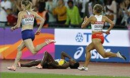 Jamaikai vēl viena dramatiska stafete Londonā, Trinidada un Tobago paņem pēdējo čempionāta zeltu