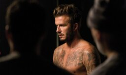 david beckham. deivids bekhems