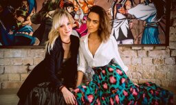 Foto: Ar stila zvaigžņu burziņu beidzas Rīgas modes nedēļa