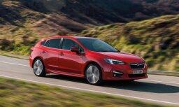 Jaunais 'Subaru Impreza' hečbeks Eiropas tirgum