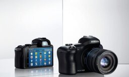 Oficiāli prezentē ar 'Android OS' aprīkoto 'Samsung Galaxy NX' fotokameru