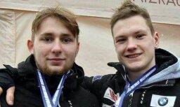 Kamaniņu divniekam Botam/Plūmem 12. vieta pasaules junioru čempionātā